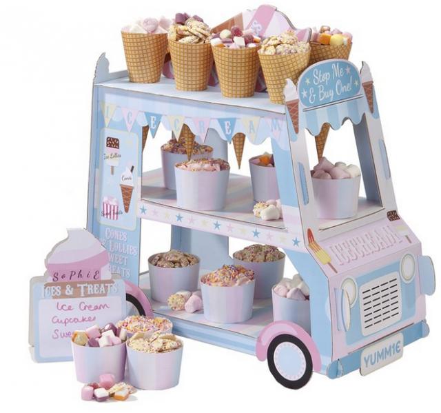Cupcake standur - Ísbíll image