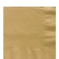 Servíettur - Ambiente - Gold 33x33cm 20 stk. image
