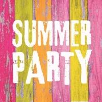Servíettur - PPD - Summer Party 33x33cm 20 stk. image