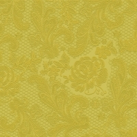 Servíettur - PPD - Lace Embossed Gold 33x33cm 15 stk. image