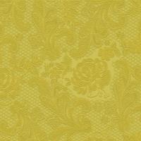 Servíettur - PPD - Lace Embossed Gold 25x25cm 15 stk. image