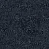 Servíettur - PPD - Lace Embossed Black 25x25cm 15 stk. image