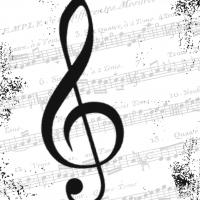Servíettur - PPD - I Love Music 25x25cm 20 stk. image