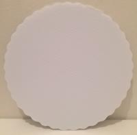 Kökuspjald úr plasti - Kringlótt 20cm image