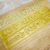 Sykurmassaskeri - Tölustafir 3 cm image