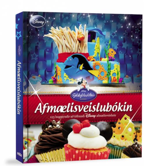 Afmælisveislubók Disney - Innbundin 192 bls.