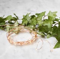LED ljósasería - Nordic Christmas Copper Table Lights 3m image
