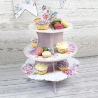 Cupcake standur á þremur hæðum - Truly Romantic image