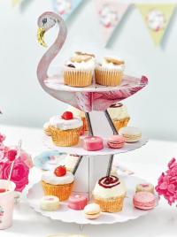 Cupcake standur á þremur hæðum - Truly Flamingo image