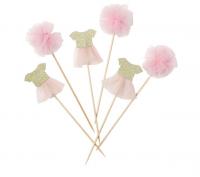 Ballerínuskraut á pinna - We ♥ Pink 6 stk. image
