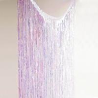 Vegg- og hurðartjald - Hologram - Glitterati Iridescent 2x2m image