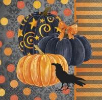 Servíettur, litlar - Painted Pumpkin - 25x25cm 24 stk image