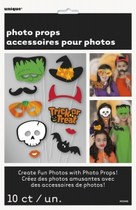 Photo Booth Props - Halloween 10pcs image