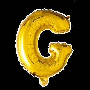 Álblaðra - Bókstafur 101cm - Gylltur G