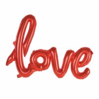 Álblaðra - Form 119cm - Love Rautt image