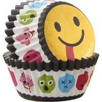Muffinsmót (lítil) - Emoji Broskarlar 100 stk. image