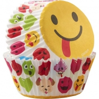Muffinsmót - Emoji Broskarlar 50 stk. image