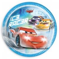 Pappadiskar - Cars Ice - 22cm, 8stk. image