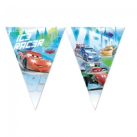 Fánalengja - Cars Ice - 9 plast fánar 2,3m. image