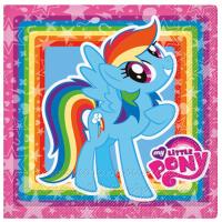 Servíettur - Little Pony - 33x33cm, 20stk. b image