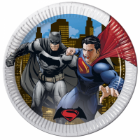 Pappadiskar - Batman vs. Superman - 23cm, 8stk. image