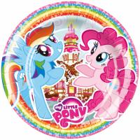 Pappadiskar - Little Pony - 23cm, 8stk. image