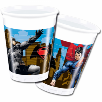 Plast glös - Batman vs. Superman - 200ml., 8stk. image
