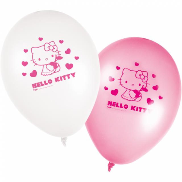 Blöðrur 25cm - Hello Kitty 8 stk image