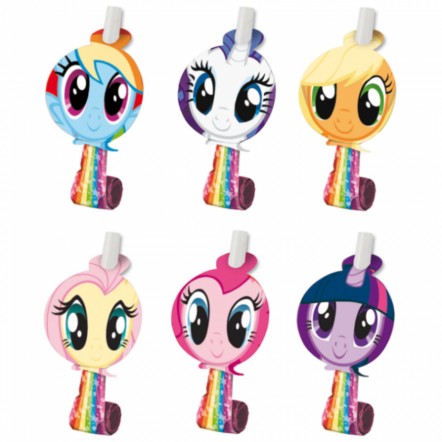 Blow-outs - Vælur - Little Pony - 6 stk image